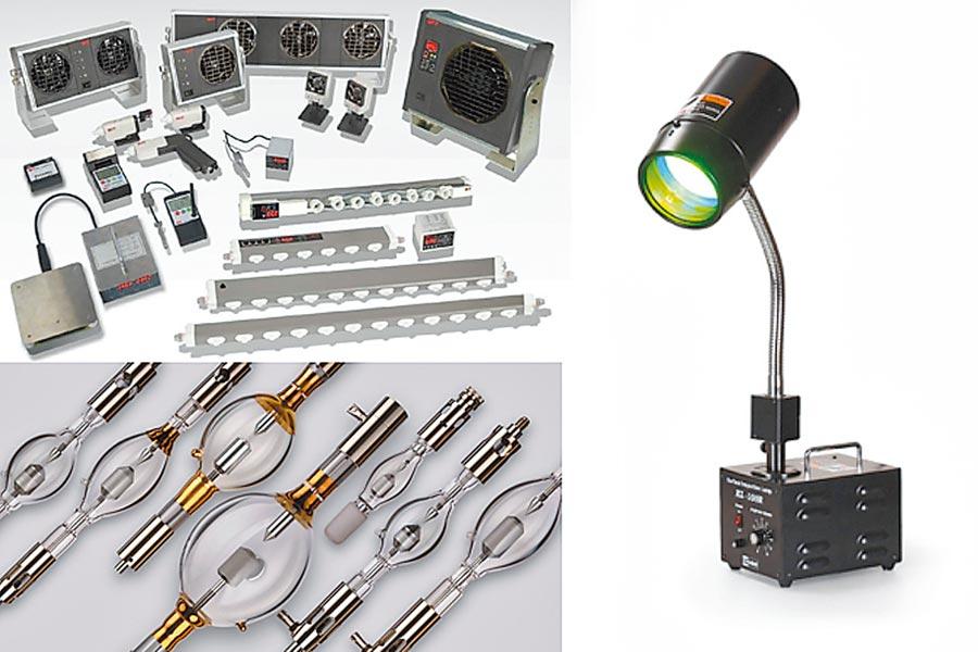 作為檢查燈的設計、製造商的可成應材也有許多各式檢查燈,可以幫客戶找出產品的缺陷,進而增加產品良率。圖/業者提供