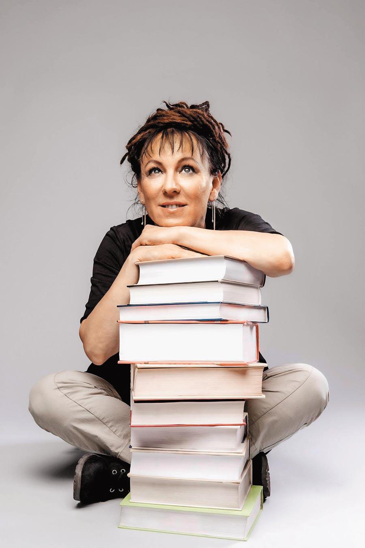 朵卡荻是繼詩人辛波絲卡第二位獲得諾貝爾文學獎的波蘭女作家。(路透)