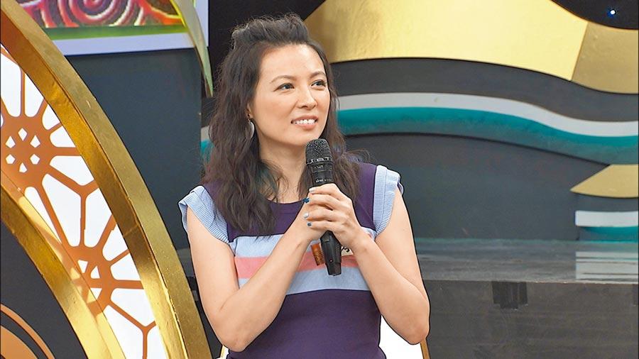 陳孝萱上節目聊起當年試鏡受騙的過程。(中天提供)