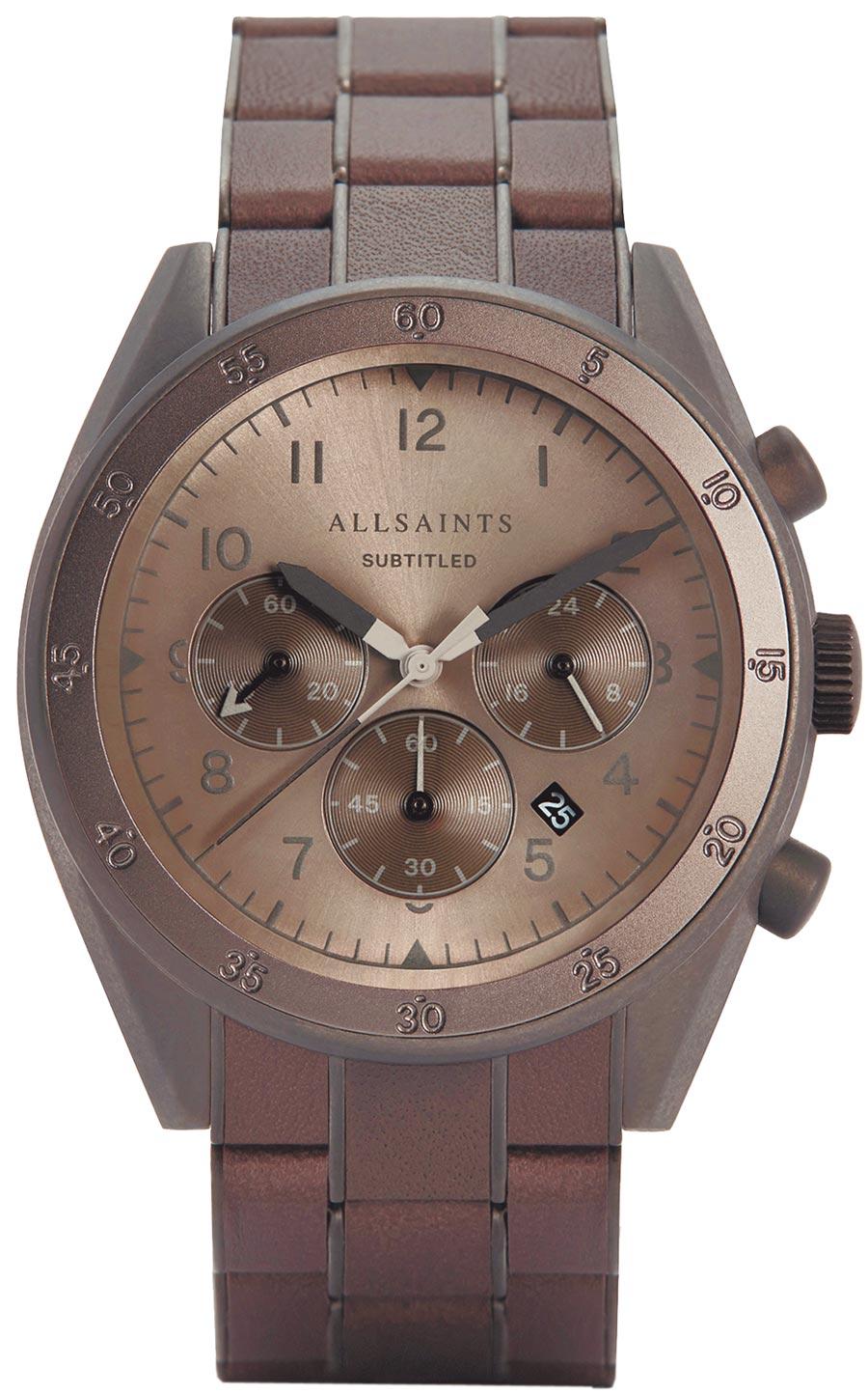 AllSaints SUBTITLED VIII腕表,1萬4300元。(AllSaints提供)