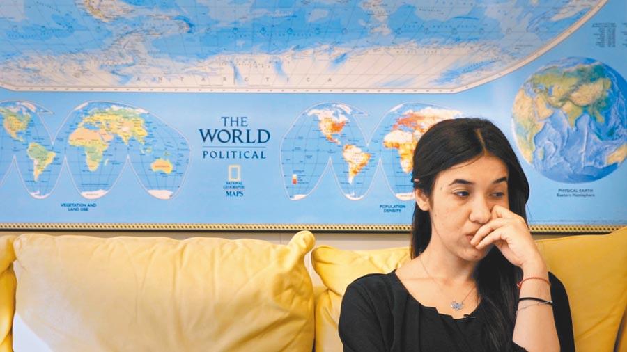 娜迪雅.穆拉德透過紀錄片,強調自己為族人發聲的主張。(台灣國際女性影展提供)