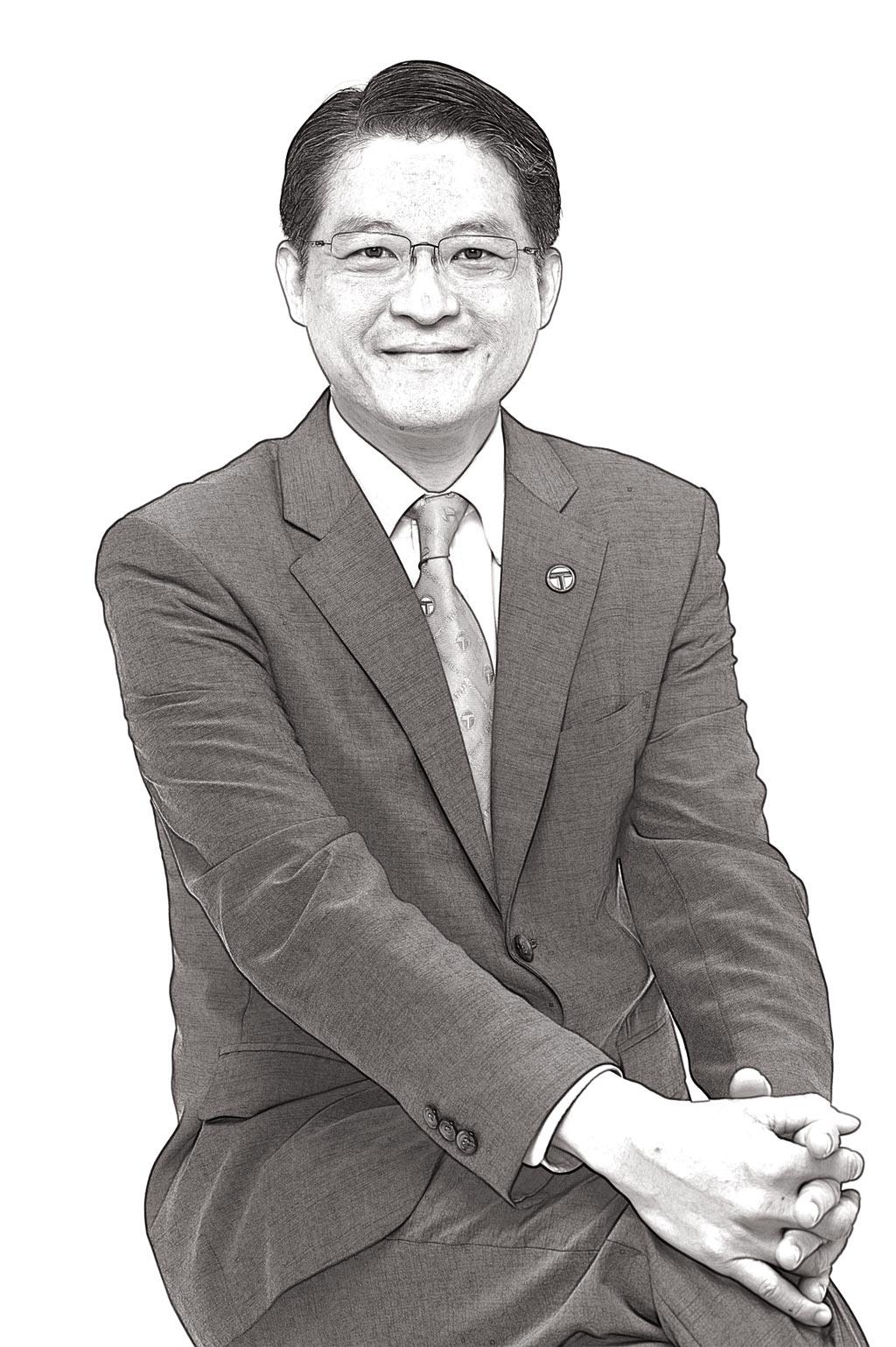台灣房屋集團副總裁周鶴鳴。  (台灣房屋提供)