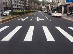 中市北區漢口路燙平14日啟動 一半施工一半通行