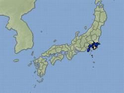 日本千葉5.7地震  最大震度4