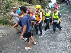救人變命危 男深潭救起溺水少年卻被吸入深處