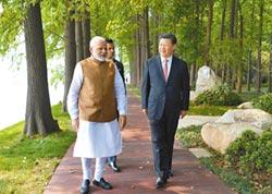 習訪印度會莫迪 二次非正式會晤