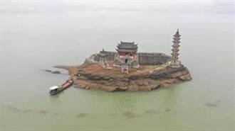 長江乾旱 鄱陽湖千年遺跡重見天日