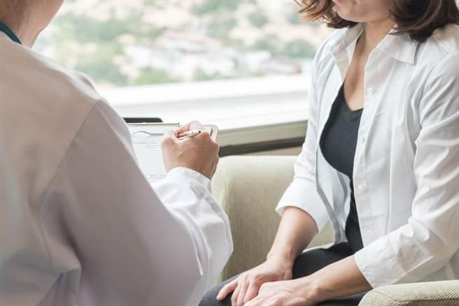 年輕女性向醫師求診,自訴頻尿且下體有黃綠色分泌物,偶會下腹疼痛,檢查赫然發現,她的子宮頸已潰爛化膿。此為示意圖。(達志影像/shutterstock)