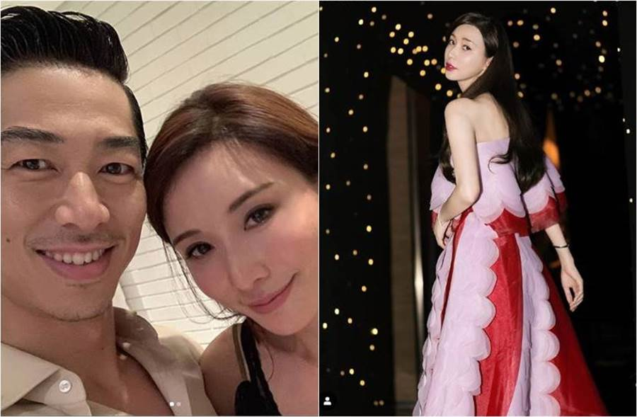 林志玲發文曬新照,並貼上兩朵花的貼圖。(圖/取材自Instagram)
