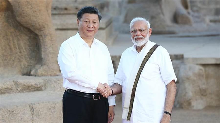 中國國家主席習近平11日訪問印度,並將與印度總理莫迪(Narendra Modi)會晤。(新華社)