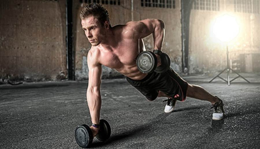 要擺脫體型纖細、體脂卻很高,練肌肉是第一步。(圖片來源:pixabay)