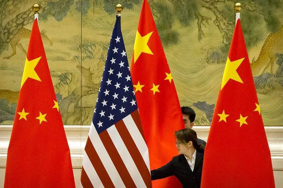 陸官媒指出,美陸經貿磋商有進展,但不必太過樂觀。(美聯社)