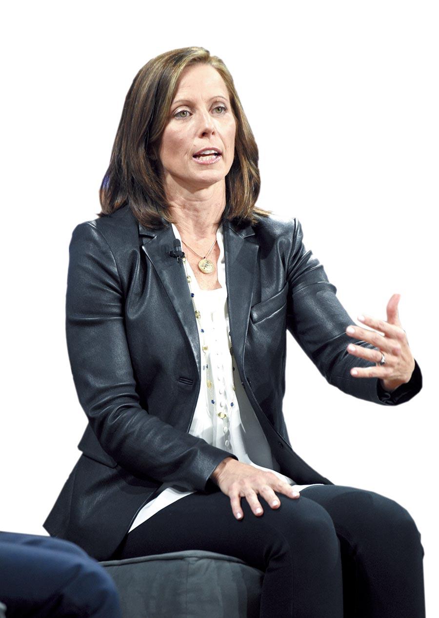 那斯達克執行長Adena Friedman。圖/美聯社