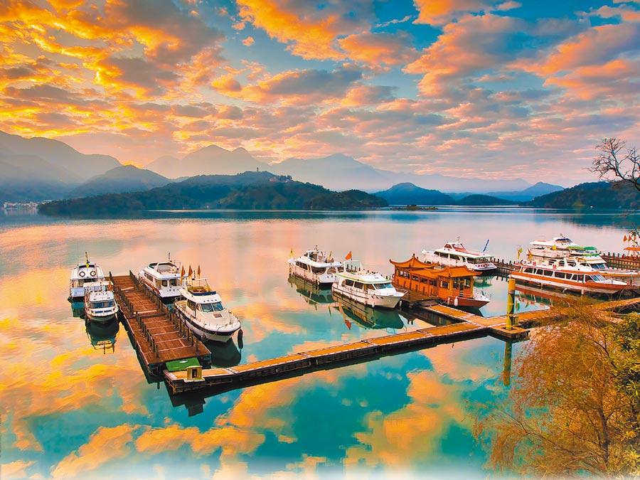 日月潭水社碼頭。(本報系資料照片)