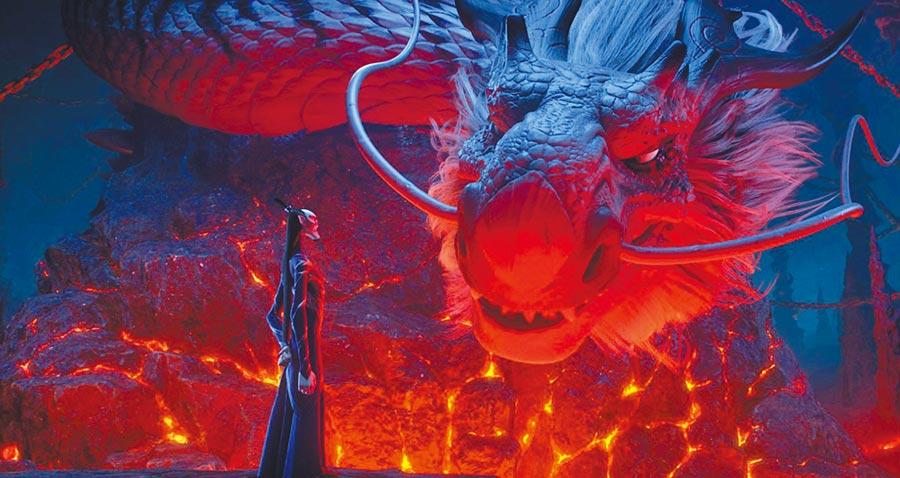 《哪吒.魔童降世》劇中的龍王,掌握重權興風作浪。(取自豆瓣網)