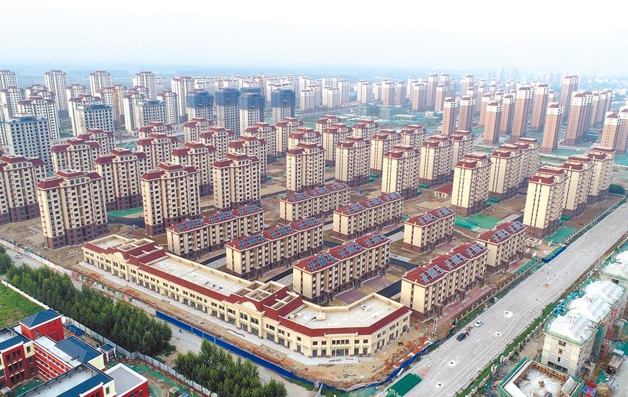 天津市寶坻區一住宅區。(新華社資料照片)