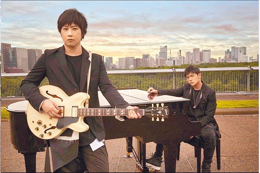 周杰倫新歌《說好不哭》和五月天阿信合作。(取自微博@周杰倫中文網JayCn)