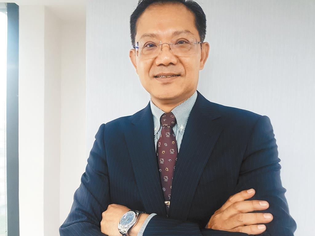 亞憶電子董事長許文堂。(記者許昌平攝)