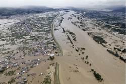 最強颱襲日26死 新幹線車庫淹大水畫面曝光