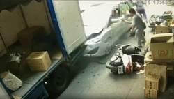 8旬翁誤踩油門當剎車  暴衝撞死妻