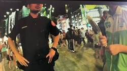 綠黨西門町發文宣遭警勸離  警:是為了保護他們