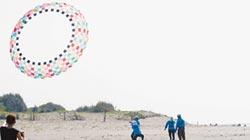 大安風箏衝浪 國際玩家顯身手