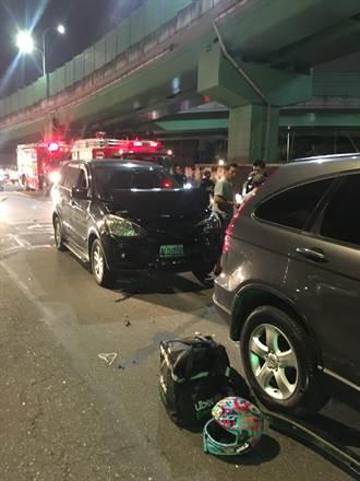 3天內第2起 uber eats外送員遭撞夾擠送醫回天乏術