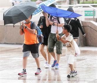 上班日大變天!「雨連下6天」 一張圖看降雨熱區