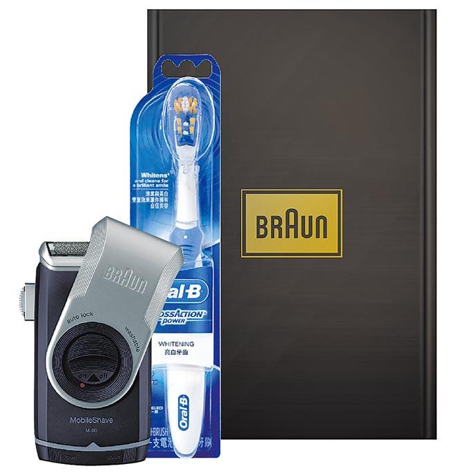 燦坤3C全館推出滿萬送千元豪禮,消費滿3萬元送德國百靈隨身禮盒組。圖片提供燦坤