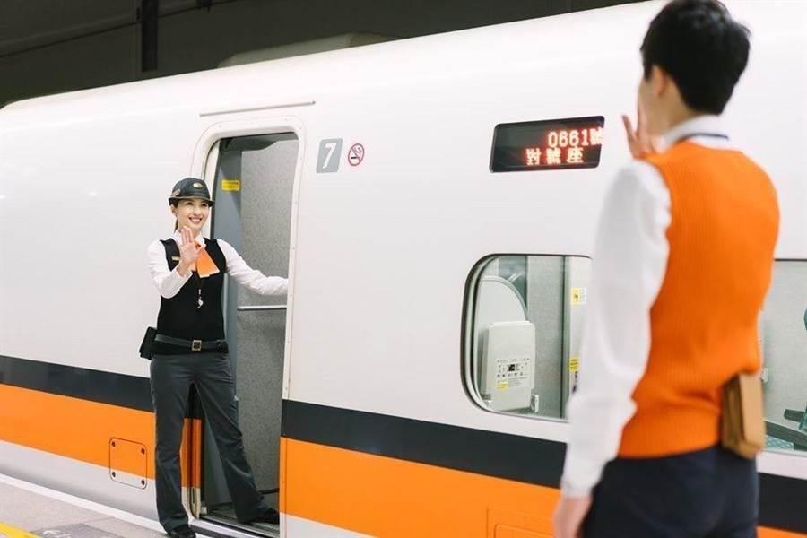 高鐵公司將於今日下午與晚上加開2班各站均停的全車自由座北上列車。(高鐵提供)