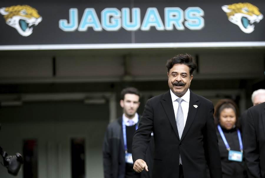 NFL美洲豹隊老闆卡恩認為莫瑞根本不尊重大陸人民。(美聯社)