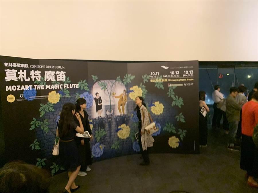 開幕滿一周年,衛武營國家表演藝術中心活動滿檔。(李欣恬攝)