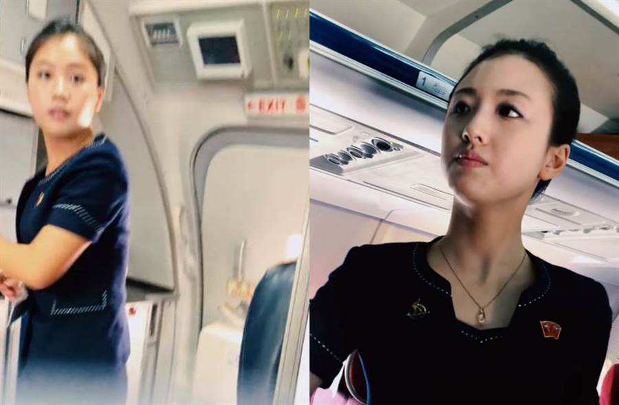 高麗航空空姐擁有女神級美貌。(圖/翻攝自阿平電影院youtube)