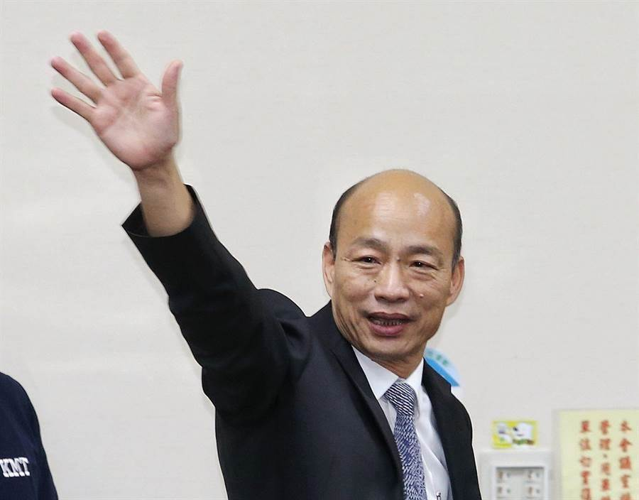 國民黨總統參選人韓國瑜。(中時資料照片)