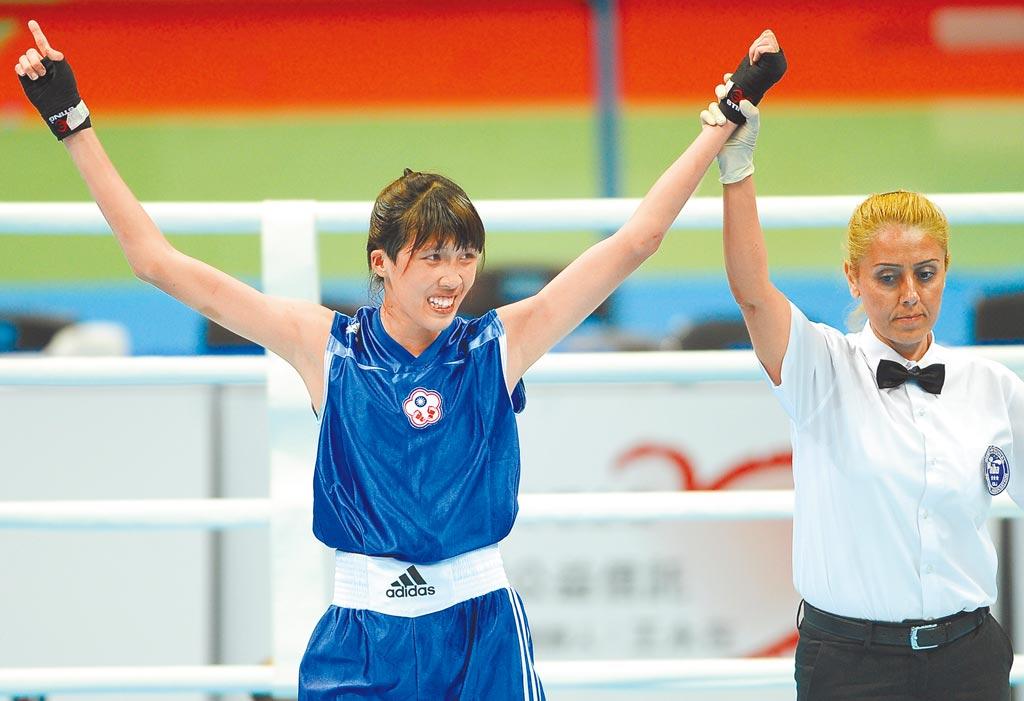 黃筱雯(圖)與吳詩儀先後在東京奧運資格賽擊敗對手,闖進四強,順利取得奧運入場券。(本報資料照片)