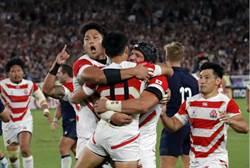 橄欖球世界盃》日本首闖8強 震撼英國球迷