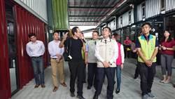 兵配廠台南轉運站年底試營運  預估年運量可達600萬人