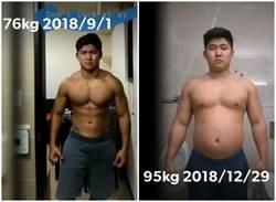 肌肉男為法女友增肥20kg躲兵役 掀網戰
