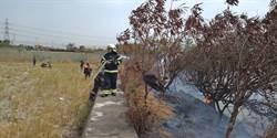 台中火力發電廠南側火災 焦屍身分待確認