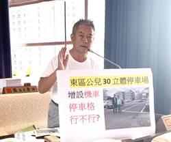機車違停亂象多 市議員鄭功進呼籲東區公兒30增設機車格