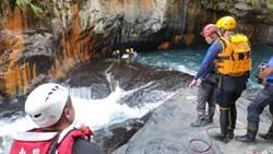 帖比倫瀑布溺水救援 消防局:非潛水裝備不足