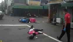 美食外送員女車禍摔傷 嘉義市屢傳意外
