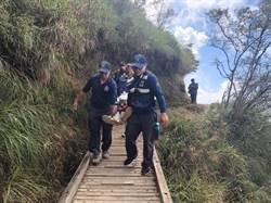 60歲領隊玉山登山口500公尺處突倒地 急救後不治身亡