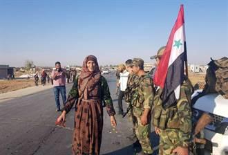 中東戰火 敘軍與土軍在邊界城鎮對峙