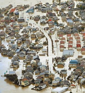 哈吉貝狂掃日本 至少35死178傷