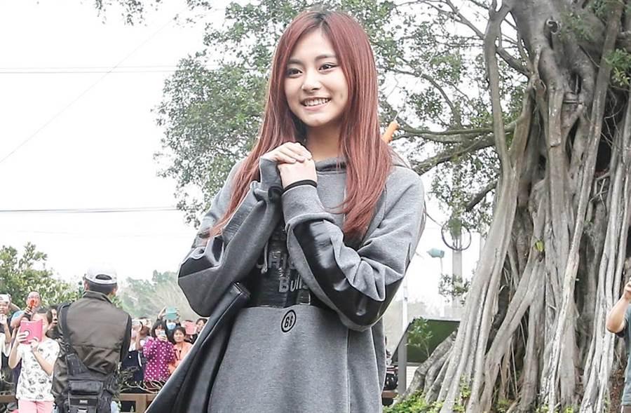 子瑜連2年被選為亞洲最美臉孔。(圖/本報系資料照)