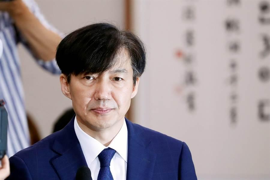醜聞纏身,南韓法務部長曹國今(14)日宣布辭職下台,上任僅35天。(資料照/路透社)
