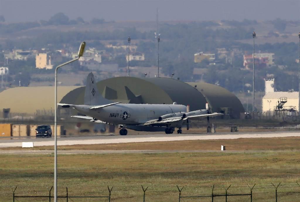 美國在土耳其東南方的因切利克(Incirlik)空軍基地(見圖)存放了約50枚核彈。(美聯社)