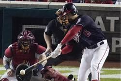 MLB》憤怒鳥GG 國民3連勝聽牌!