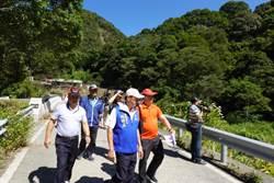 林明溱紅香部落會勘 紅香溫泉會館換地方